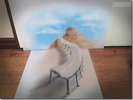 iluzii optice-desen creion