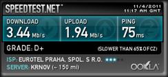 Mobilni internet O2 - test