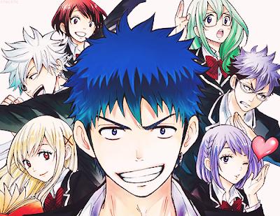 Yamada-kun to 7-nin no Majo - Anime yamada kun to 7 nin majo vietsub