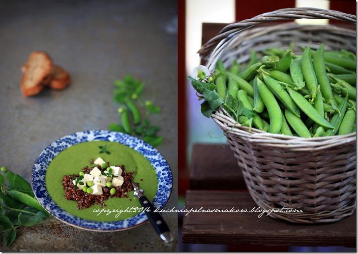Zupa krem z zielonego groszku2