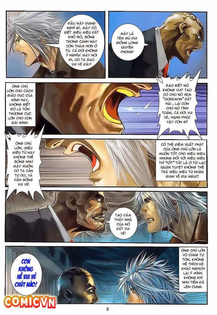 Cửu Long Thành Trại chap 30 - Trang 9