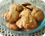 Banana Choco Chip cookies 7