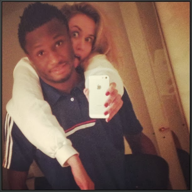 This is Aniekeme Finbarr     s Blog  Meet Mikel Obi     s Russian Babe     be seriously dating and living with a beautiful Russian lady  Olga Diyachenko  in his UK house  Bad news for the Nigerian babes