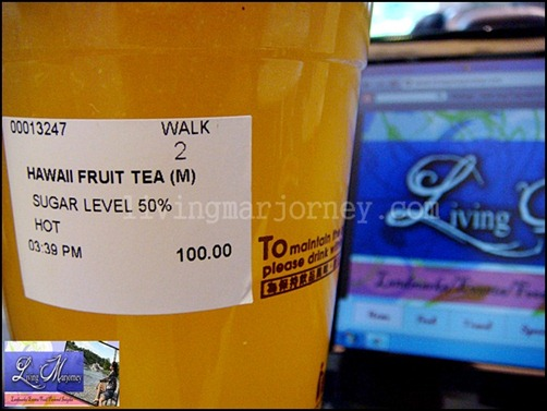A-gantea: Hawaiian Fruit Tea