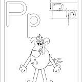 alfabeto P.Perro blanco y negro.jpg
