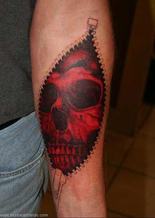 tatuagens ilusoes de otica optica ilusion tatoo desbaratinando  (21)