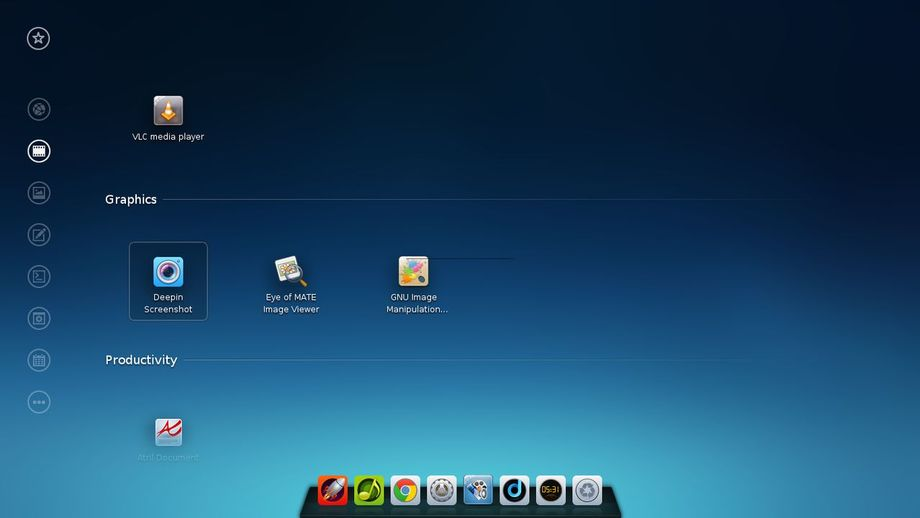 Deepin Desktop Environment in Arch Linux