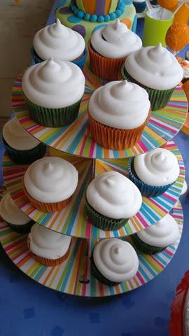 Cupcakes Gotetes de sucre stand