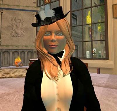 Victorian Fantasy  Black Seal 001