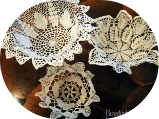 Doily Bowls