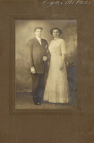 PR Antiques 1911 wedding I think