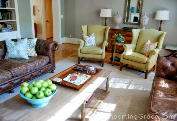 Fieldstone - living room paint color