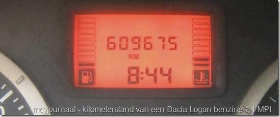 Dacia als taxi 1.4 MPI 2005 01