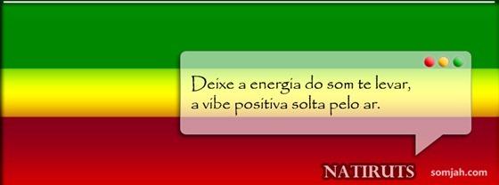 capa para fabook reggae frase Natiruts