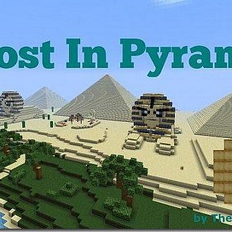 Minecraft 1.5.1 – Lost in Pyramid Adventure map