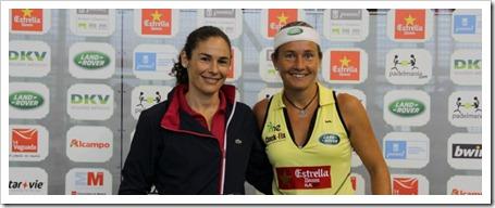 Carolina Navarro y Vivi Ruano