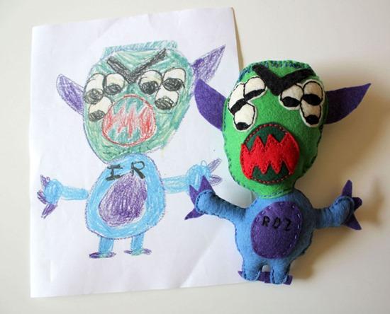 Brinquedos de desenhos de crianças (3)