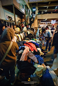 Piles of Secondhand Stuff at Baguio's Night Market