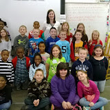 WBFJ Cici's Pizza Pledge - Walkertown Elementary - Mrs. Simpson's 2nd Grade Class - 3-5 -14