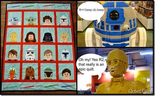 LEGO Star Wars with LEGO displays