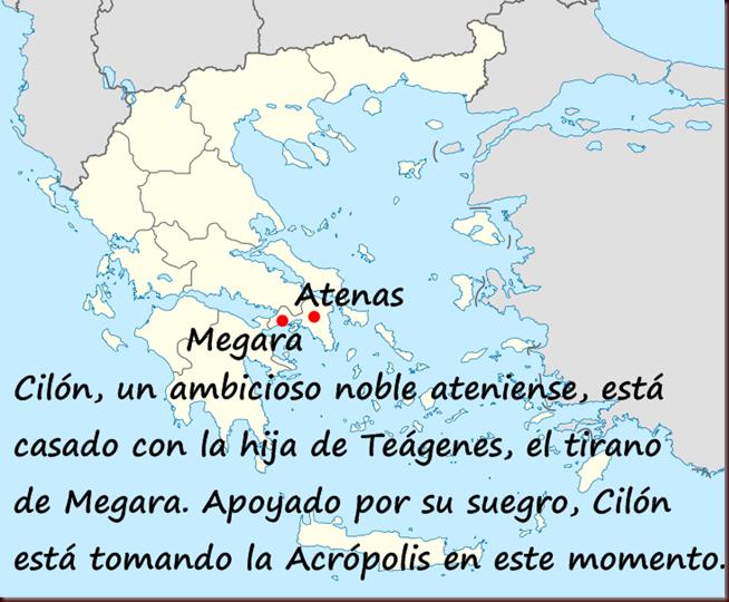 Megara y Atenas Antigua Grecia