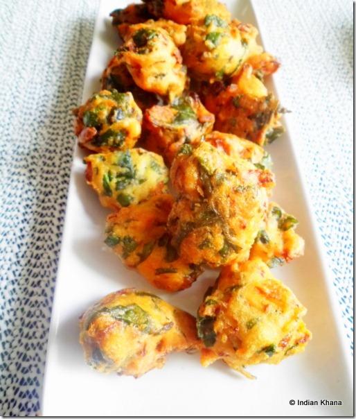 easy Vada palak pakora bhaji pakora recipe