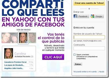 Inicio correo yahoo argentina gratis 2014 mejores for Paginas de chimentos argentina