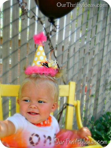 Our Thrifty Ideas: DIY Birthday Hat tutorial