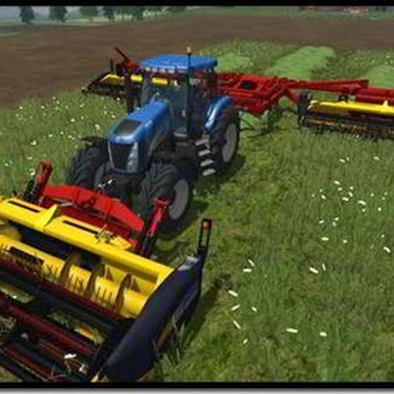Farming simulator 2011 - PhiBer Triple Cutter HS 18