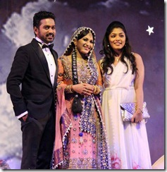 Asif ali marriage reception pic1