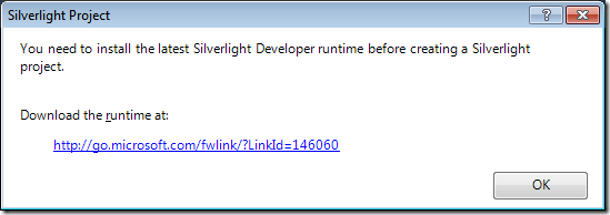 4 - Silverlight Developer runtime required for CRM Developer Toolkit