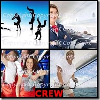 CREW- 4 Pics 1 Word Answers 3 Letters