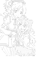 Tomoe Mami & Momoe Nagisa (Puella Magi Madoka Magica)[AA]