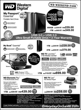 Western-Digital-Weekend-Fair-2011-EverydayOnSales-Warehouse-Sale-Promotion-Deal-Discount