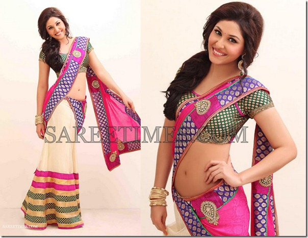 Pooja_Chopra_Saree