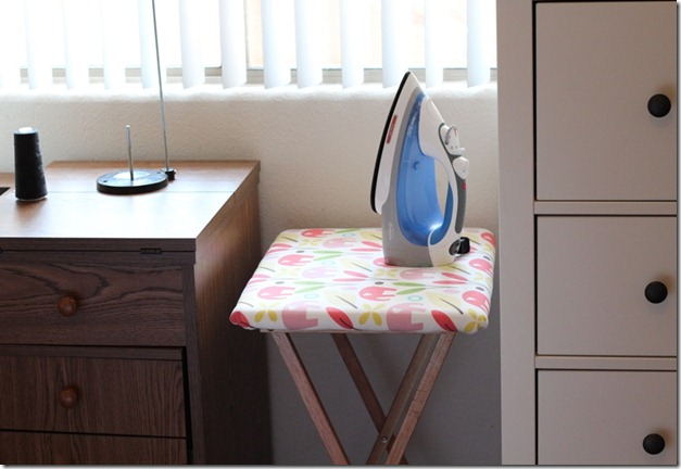 Crafty Cupboard_DIY Ironing Portable Ironing Table