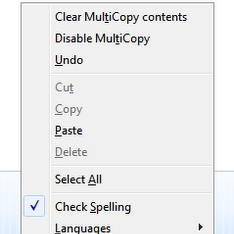 MultiCopy: Sequentially Copy/Paste Multiple Text in Firefox