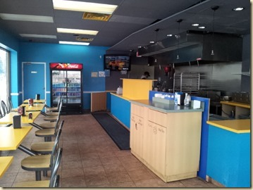 Big Moe's interior