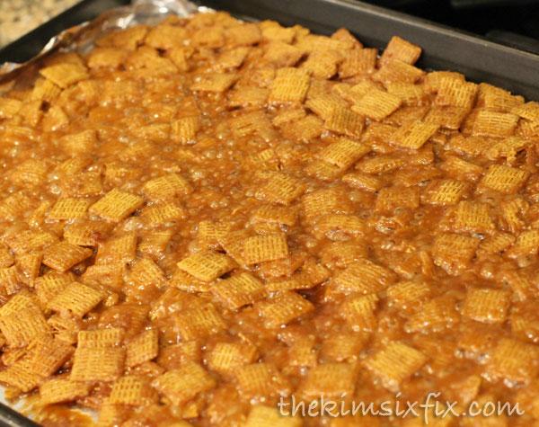 Caramel life cereal