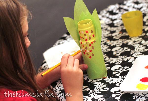 Indian corn craft