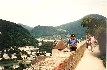 Obiective turistice Salzburg: pe fortareata Hohensalzburg