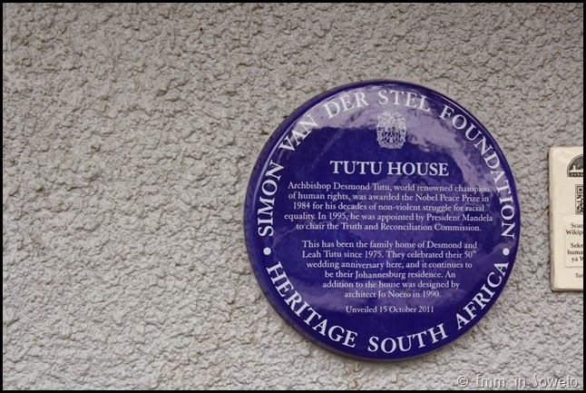 Tutu House Soweto