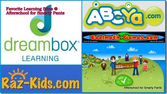 Favorite learning sites for elementary school