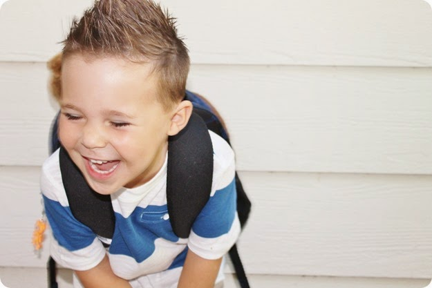 Nash's First Day of Preschool 017