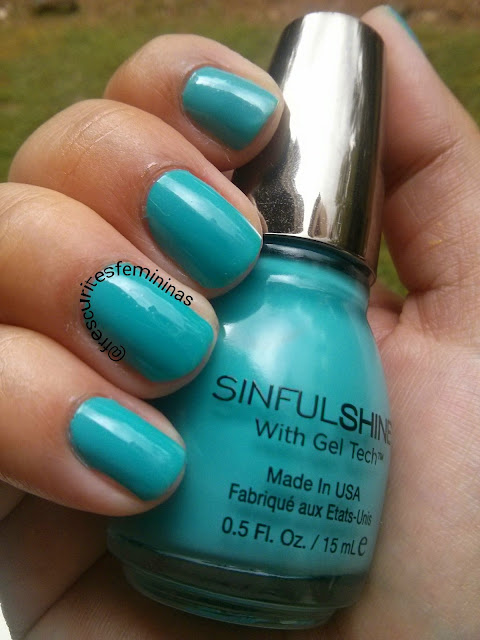 Sinful Colors, Azul, Nail Polish, sinfulshine