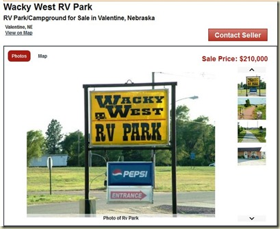 Wacky west sale ad pic