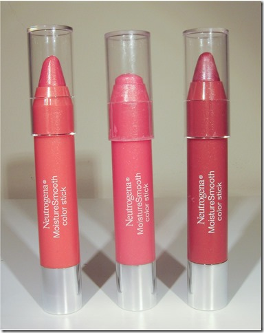 Neutrogena Moisturesmooth Color Sticks