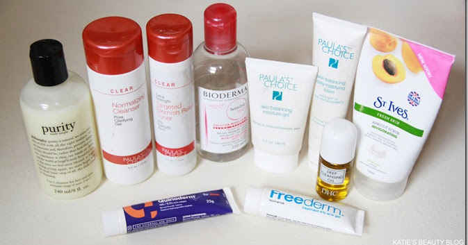 Katie S Beauty Blog My Skincare Regime Combination Acne
