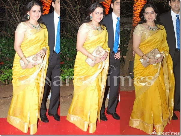 Shaina_NC_Yellow_Silk_Saree