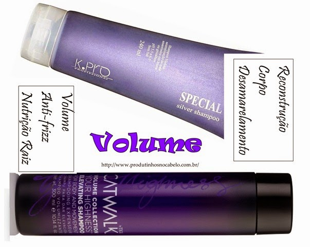 Shampoo volume e corpo